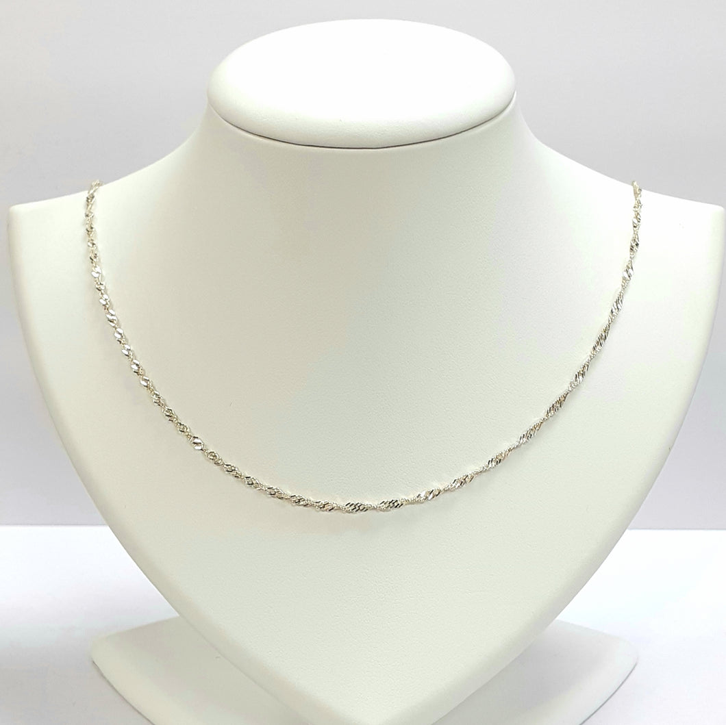 Silver Hallmarked 925 Chain - Product Code - VX299
