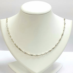 Silver Hallmarked 925 Chain - Product Code - U632
