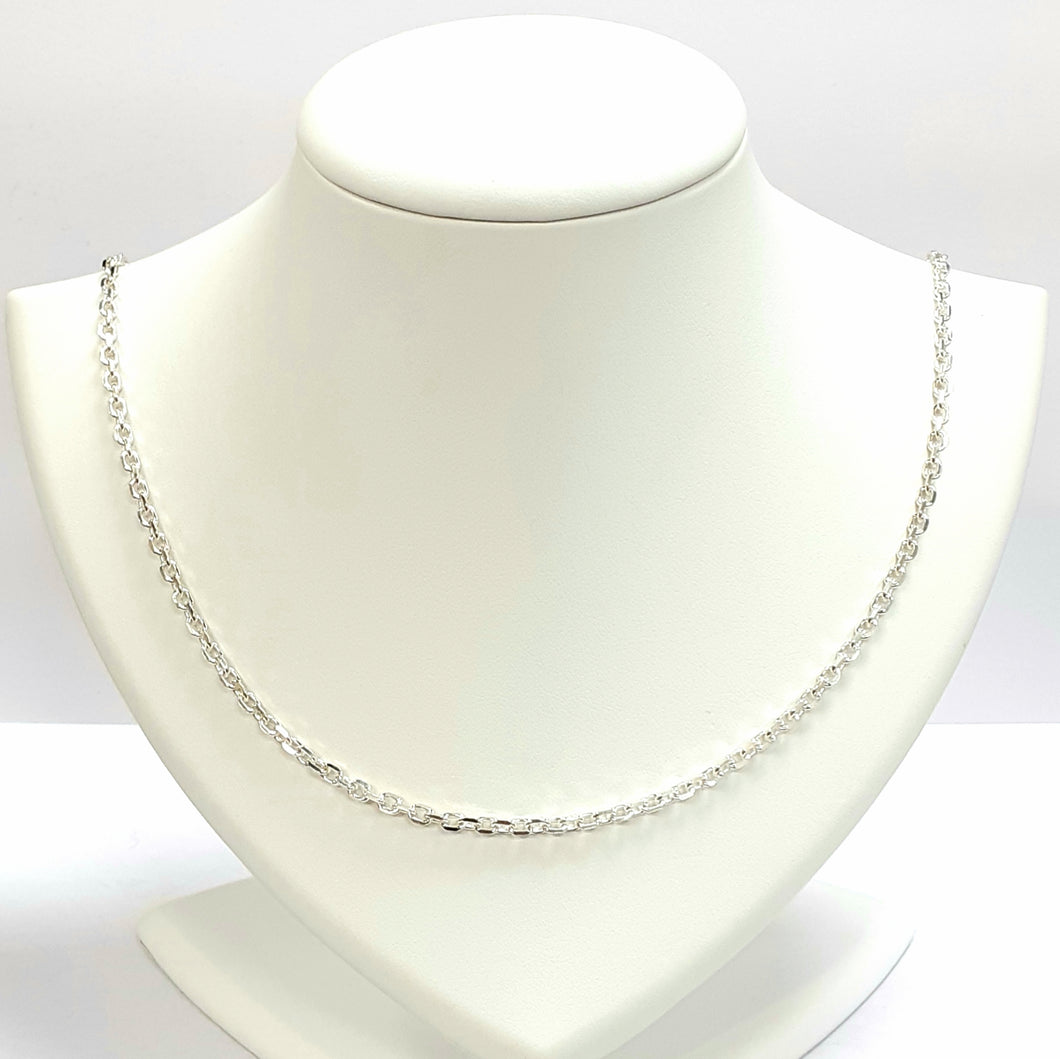 Silver Hallmarked 925 Chain - Product Code - VX570