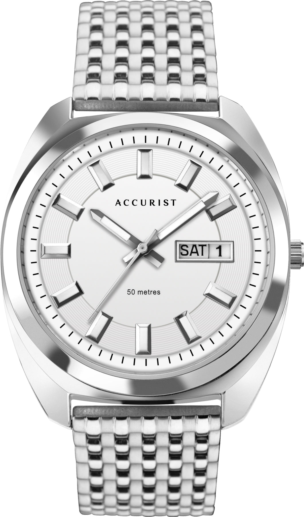 Accurist Men's Retro Inspired Bracelet Watch Product Code - 7334