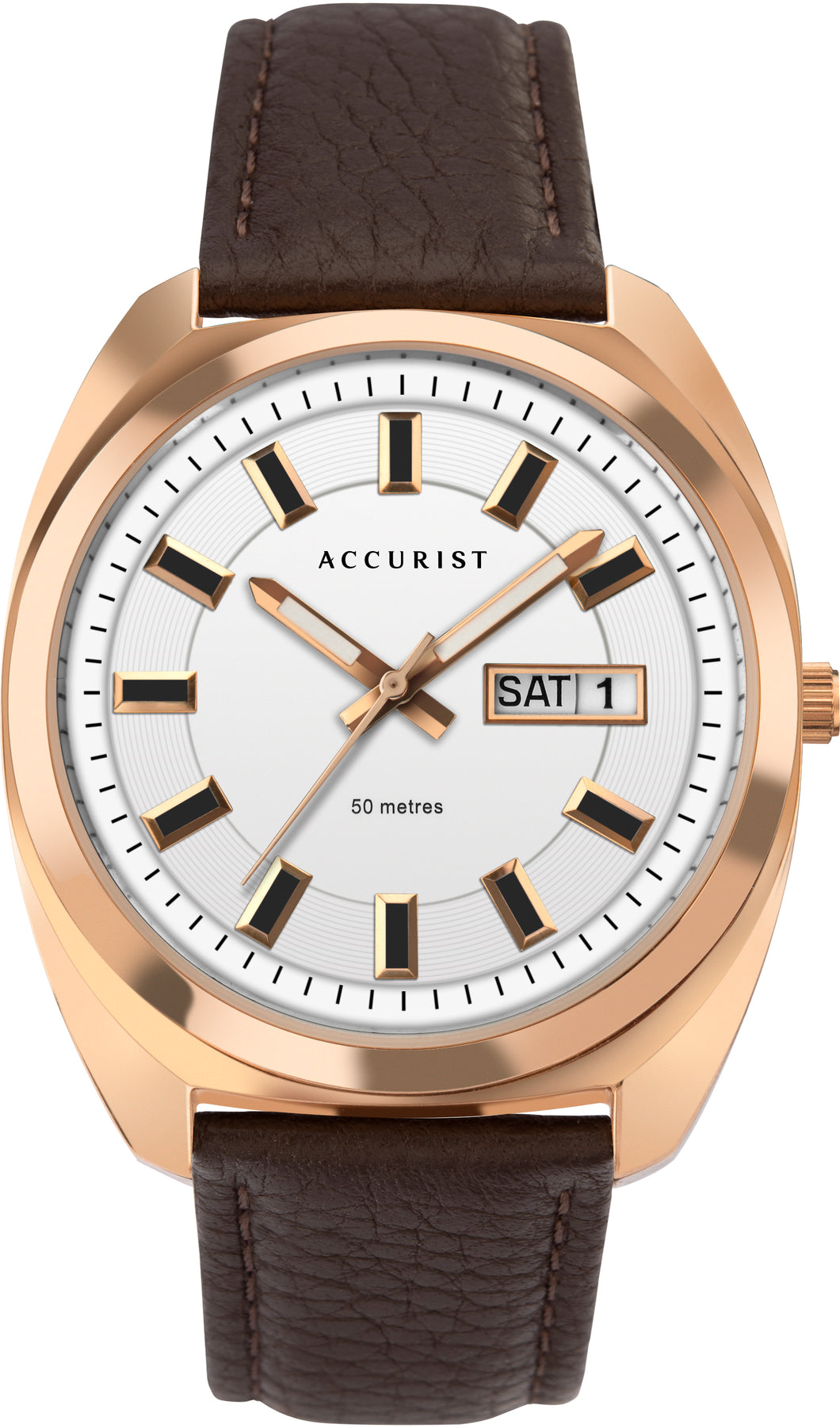 Accurist Men's Retro Inspired Strap Watch - Product Code - 7336