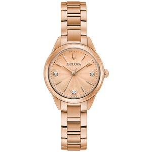 Bulova Women's Quartz Sutton Classic Bracelet Watch - Product Code - 97P151
