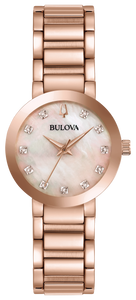 Bulova Women's Quartz Futuro Bracelet Watch - Product Code - 97P132