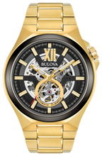 Load image into Gallery viewer, Bulova Men's Automatic Maquina Bracelet Watch - Product Code - 98A178