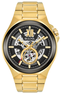 Bulova Men's Automatic Maquina Bracelet Watch - Product Code - 98A178