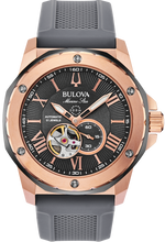 Load image into Gallery viewer, Bulova Men's Mechanical Marine Star Strap Watch - Product Code - 98A228