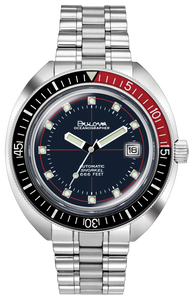 Bulova Men's Automatic Oceanographer Bracelet Watch - Product Code - 98B320