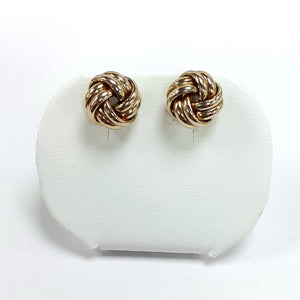 9ct Yellow Gold Hallmark Stud Earrings - Product Code - VX767