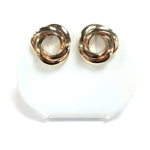 9ct Yellow Gold Hallmark Stud Earrings - Product Code - VX803