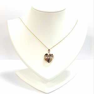 9ct Yellow Gold Hallmarked Locket - Product Code - VX336/ C745
