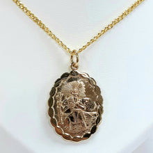 Load image into Gallery viewer, 9ct Yellow Gold Hallmarked Saint Christopher - Product Code - VX215 / J549