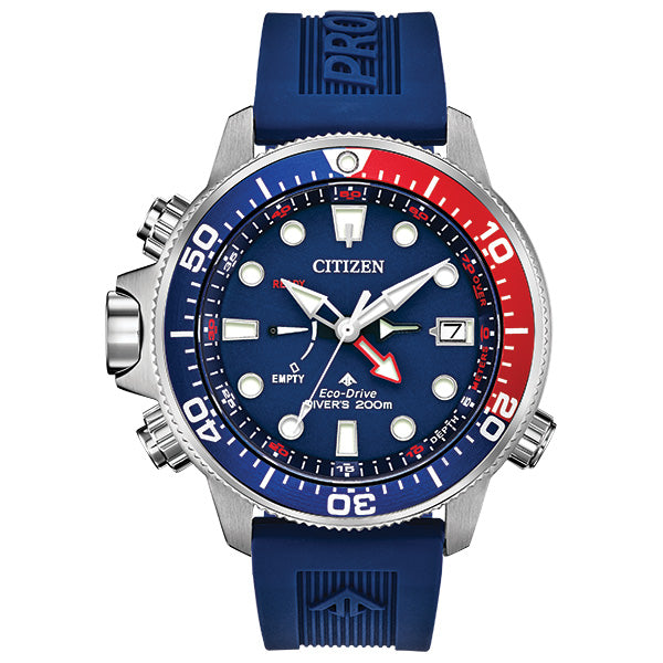 Citizen Men's Eco-Drive PROMASTER AQUALAND STRAP Watch - Product Code - BN2038-01L