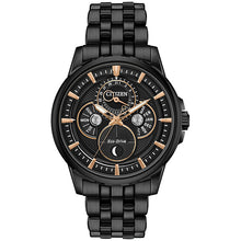 Load image into Gallery viewer, Citizen Men's Eco-Drive MOONPHASE Bracelet Watch - Product Code - BU0057-54E