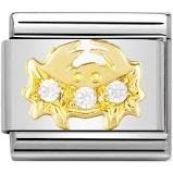 Nomination Gold CZ Stone Zodiac Signs - Available Here