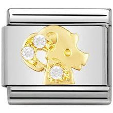 Load image into Gallery viewer, Nomination Gold CZ Stone Zodiac Signs - Available Here