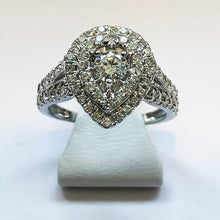 Load image into Gallery viewer, Diamond White Gold Designer Ring