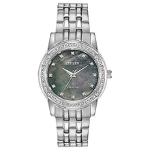 Load image into Gallery viewer, Citizen Women's Eco-Drive SILHOUETTE CRYSTAL Bracelet Watch - Product Code - EM0770-52Y