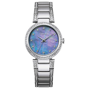 Citizen Women's Eco-Drive SILHOUETTE CRYSTAL Bracelet Watch - Product Code - EM0840-59N