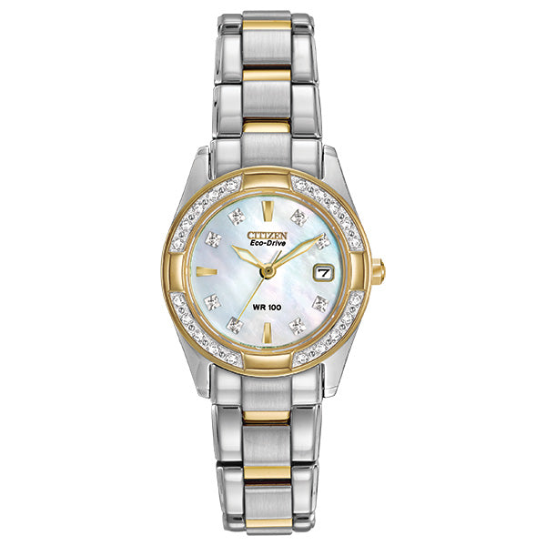 Citizen Women's Eco-Drive REGENT DIAMOND Bracelet Watch - Product Code - EW1824-57D