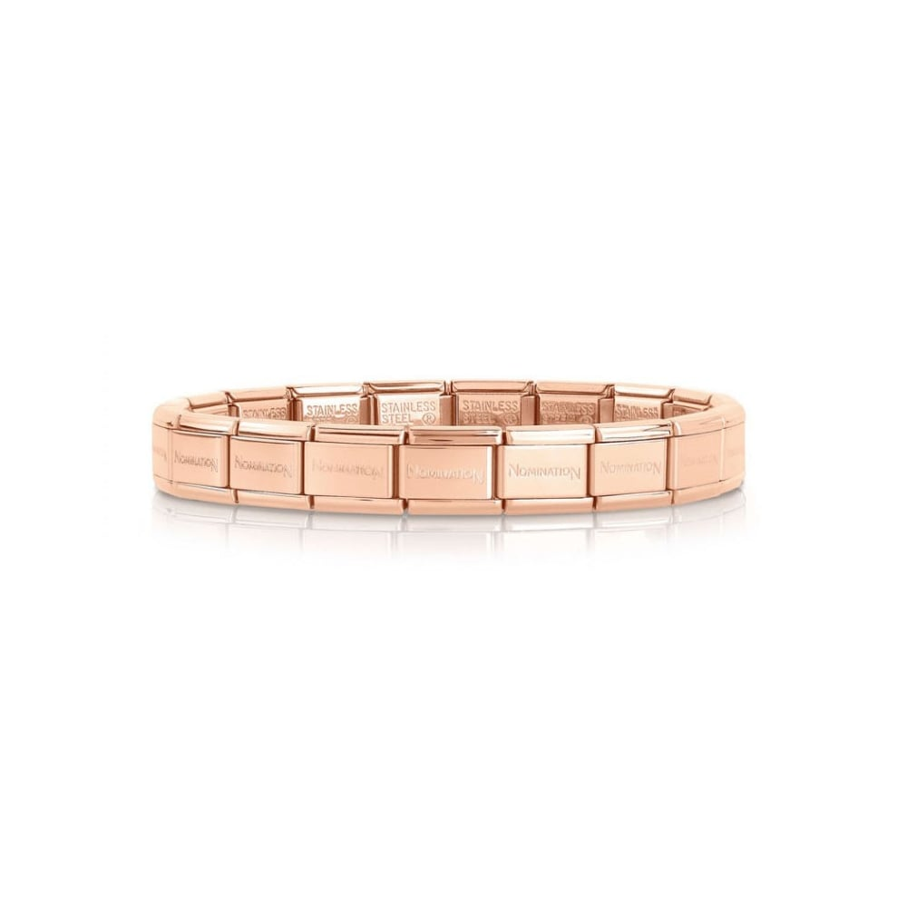 Nomination Rose Gold Stainless Steel Links - Product Code - 030001/SI/011