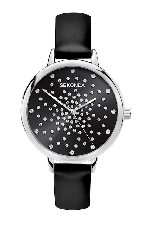 Sekonda Editions Black Strap Watch - Product Code - 2941