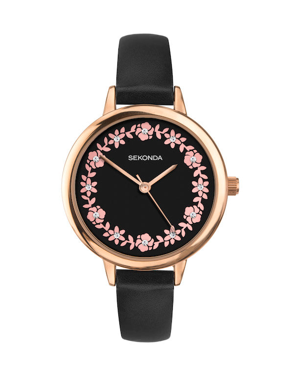 Sekonda Editions Women's Black Strap Watch - Product Code - 2818