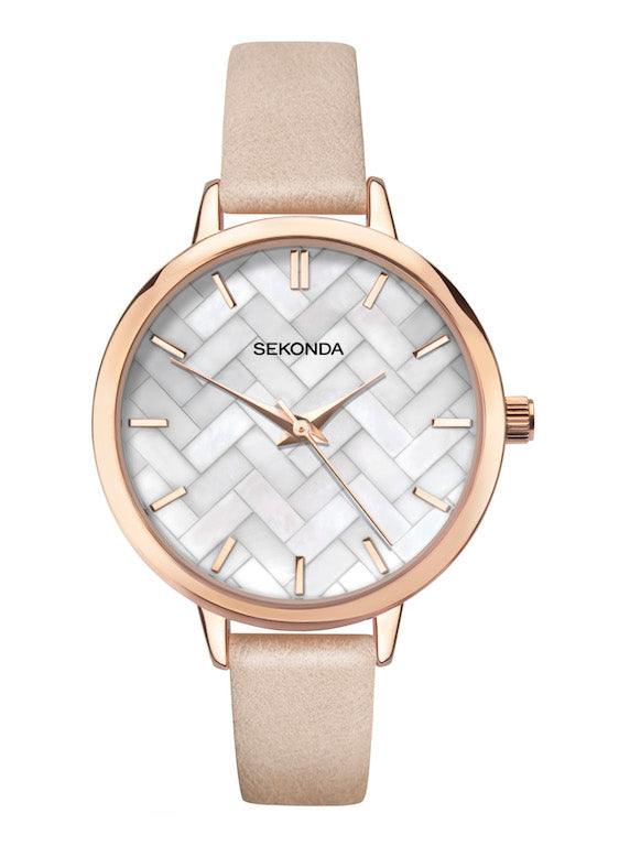 Sekonda Editions Women's Pink Strap Watch - Product Code - 2826