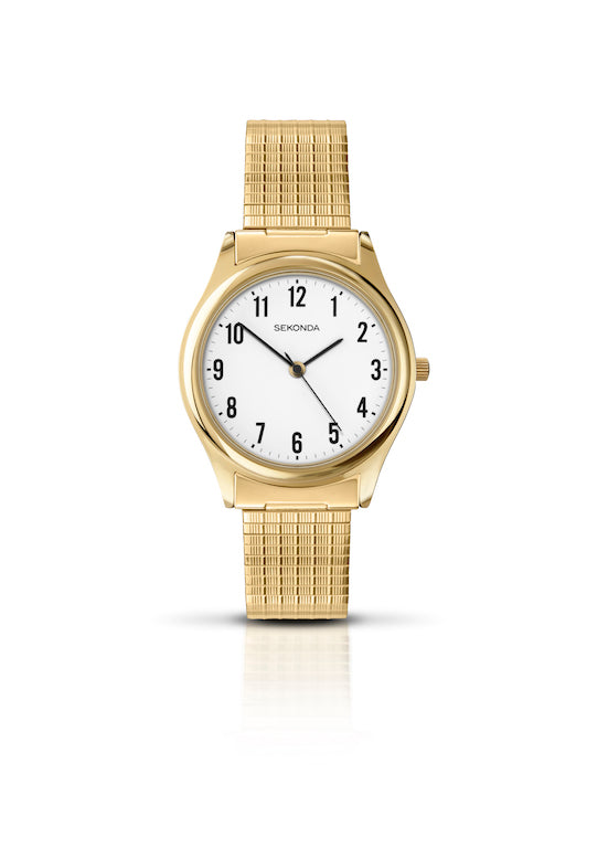 Sekonda Men's Classic Gold Plated Watch - Product Code - 3752