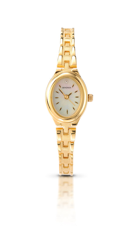 Sekonda Women's Classic Gold Plated Bracelet Watch - Product Code - 4547