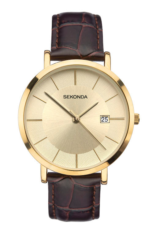 Sekonda Men's Classic Brown Strap Watch - Product Code - 1692