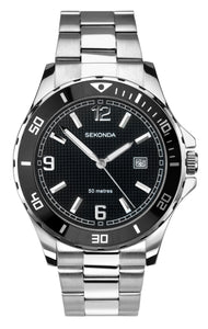 Sekonda Men's Stainless Steel Bracelet Sports Watch - Product Code - 1513