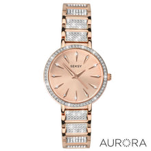 Load image into Gallery viewer, Seksy Aurora Rose Gold Plated Bracelet Watch - Product Code - 2372