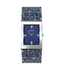 Load image into Gallery viewer, Seksy Rocks® Blue Stone Set Bracelet Watch - Product Code -2758