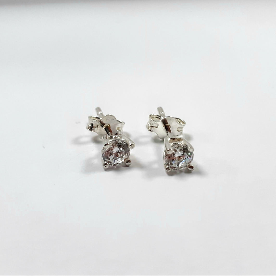 Silver Small Hallmarked 925 Studs - Product Code - L432