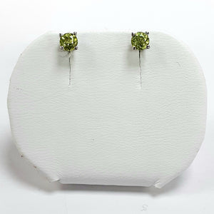 Silver Hallmarked Stone Set Earrings - Product Code - A583