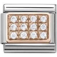 Load image into Gallery viewer, Nomination Rose Gold Cubic Zirconia Charms