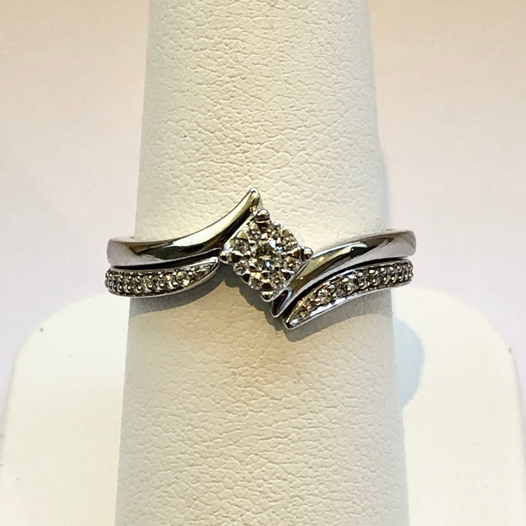 Engagement & Wedding Ring Bridal Set - Product Code - J93