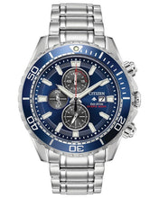 Load image into Gallery viewer, Citizen Men's Eco-Drive PROMASTER DIVER CHRONOGRAPH Bracelet Watch - Product Code - CA0710-82L