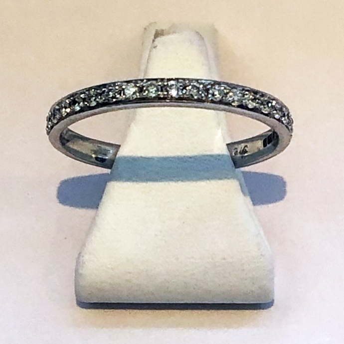 Diamond White Gold Wedding Ring