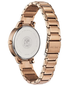 Citizen Women's Eco-Drive SILHOUETTE CRYSTAL Bracelet Watch - Product Code - FE7043-55A