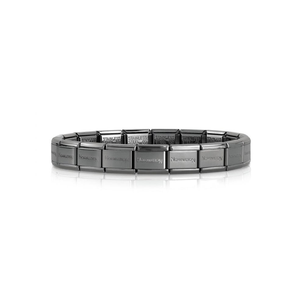 Nomination Black Stainless Steel Links - Product Code - 030001/SI/002