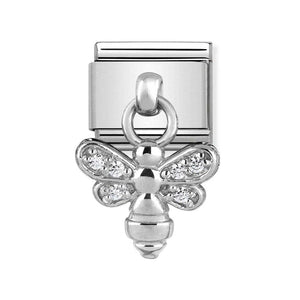 Nomination Silver Bee Drop Charm - Product Code - 331800-15