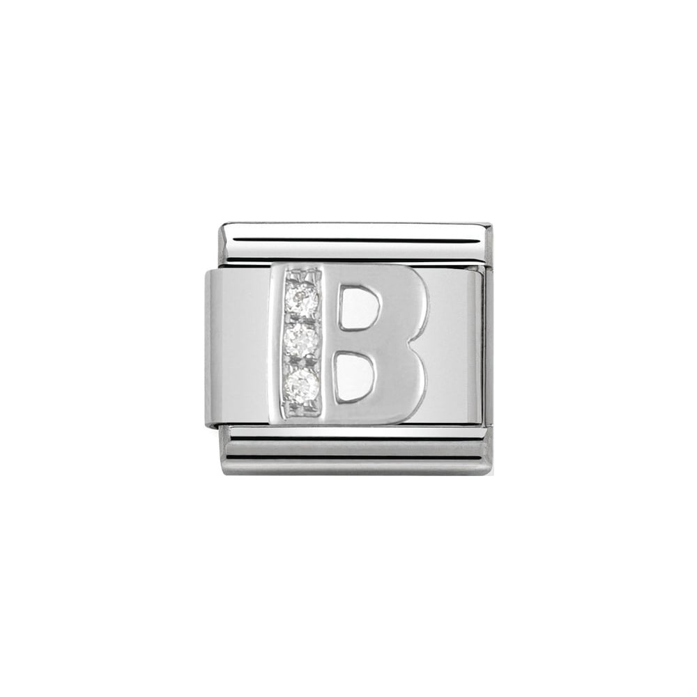 Nomination Silver Alphabet Letter Charms | A - Z Available Here |