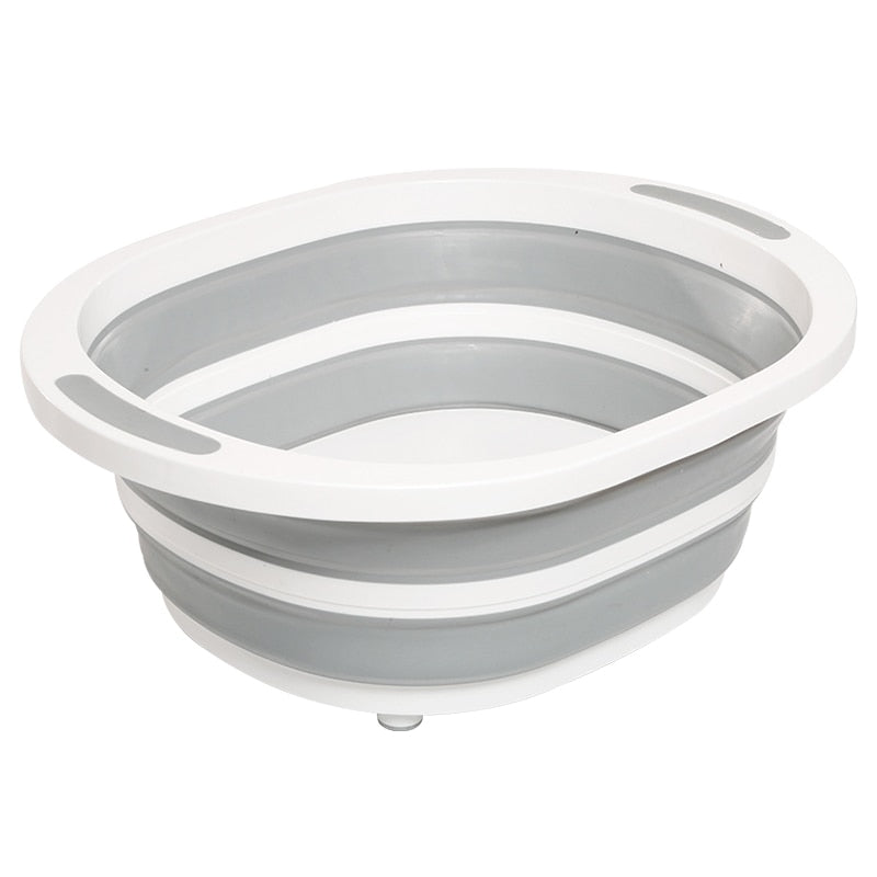 Multifunctional Collapsible Dish Tub