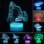 3D LED Night Light