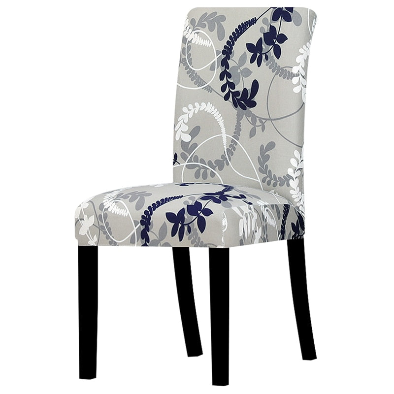Grey Colored Chair Cover
