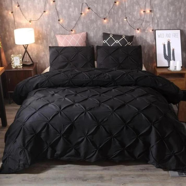 Black Duvet Cover