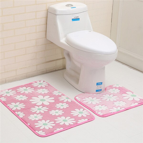 3pcs Bath Mat Set