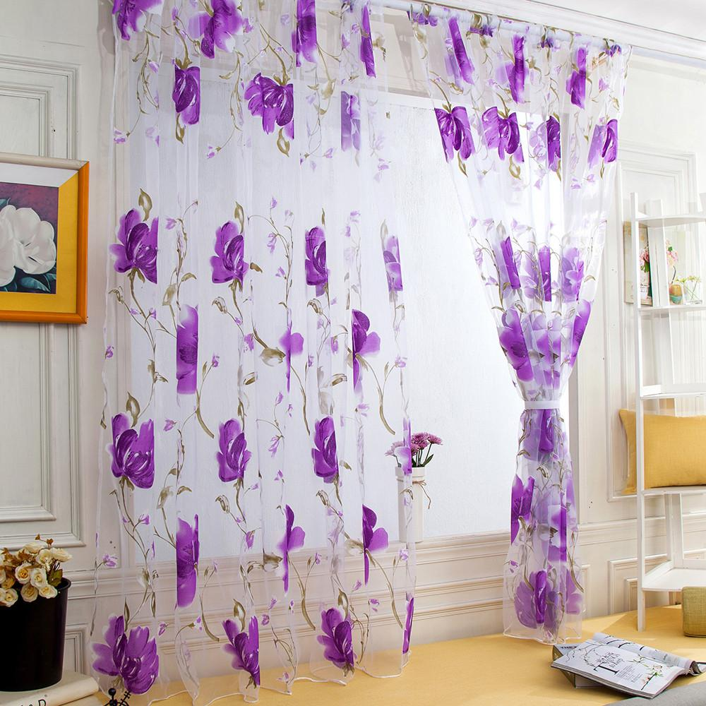 Kitchen Short Curtain Set