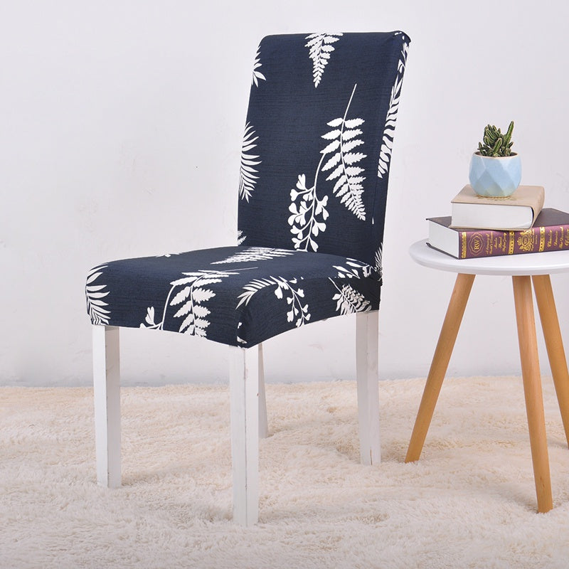 Leaves Natural Printing Chair Cover